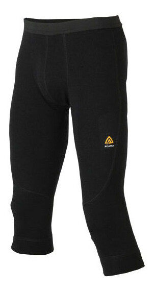 Aclima M's Warmwool Knee Pants JetBlack